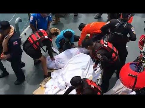 Τα¨ιλάνδη: Ανεβαίνει ο αριθμός των θυμάτων του ναυαγίου…