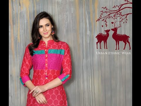 Scarlett Lawn Cotton kurtis (No.of Pieces - 8) ||  Best price and Quality || Surattextilebazaar