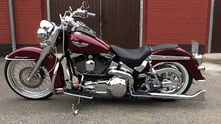 9. Harley Davidson Heritage Softail Deluxe