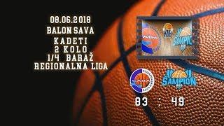 kk sava2 kk šampion2 83 49 (kadeti 2, 08 06 2018 ) košarkaški klub sava