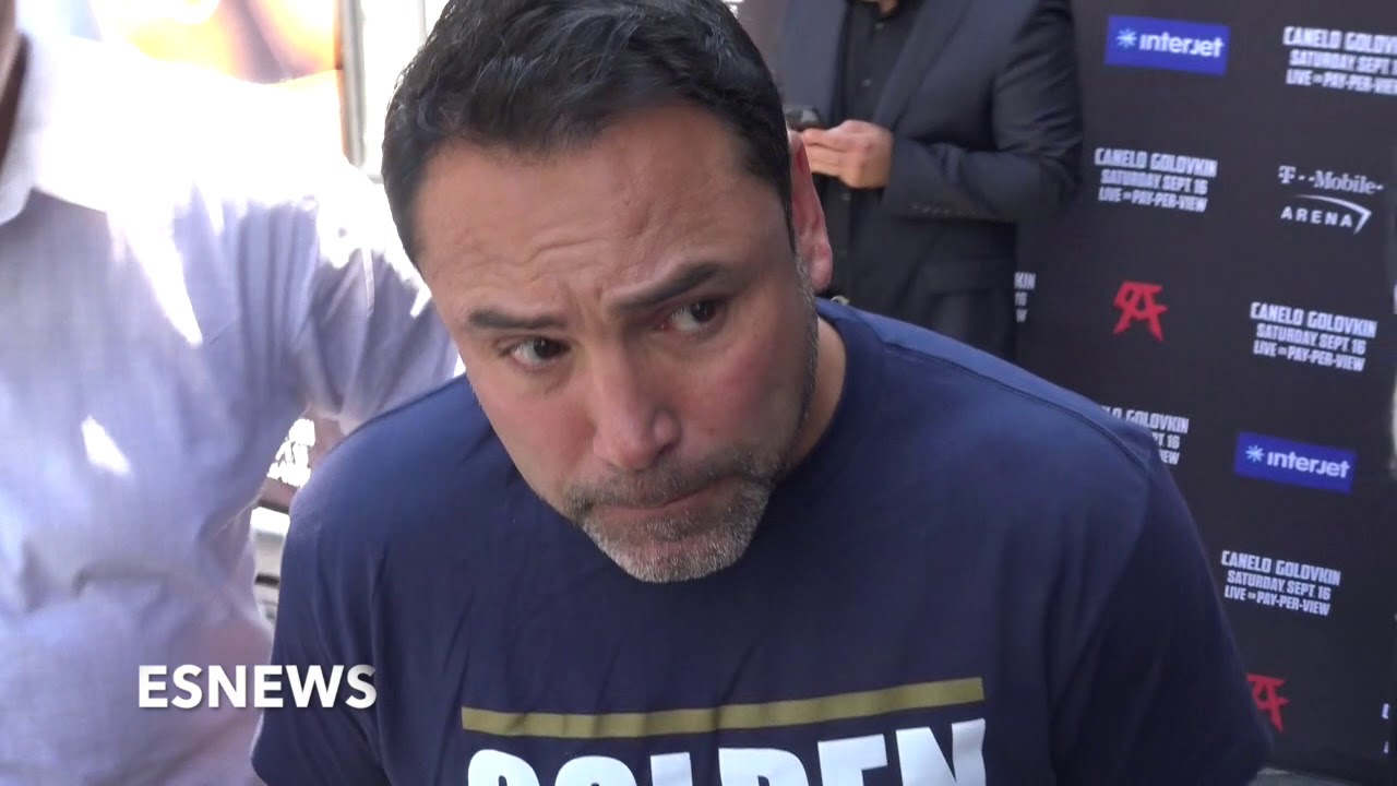 "Oscar De La Hoya ""IT WAS A FRAUD"" Mayweather vs Mcgregor Disappointment"