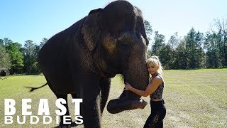 My Best Friend Is An Elephant | BEAST BUDDIES by Barcroft Animals