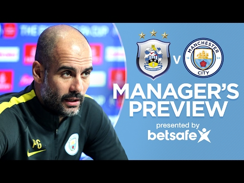 Video: I DON'T KNOW IF JESUS WILL PLAY AGAIN THIS SEASON | Hudds v Man City | Guardiola Press Conference