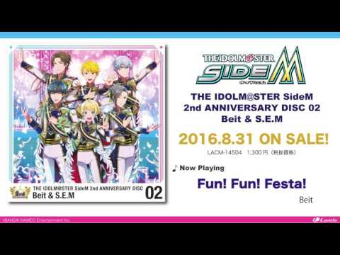 THE IDOLM@STER SideM 2nd ANNIVERSARY DISC 02 Beit & S.E.M 試聴動画