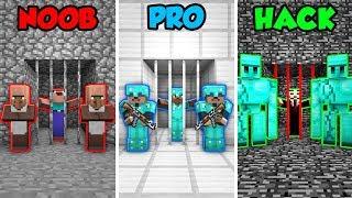 Video Minecraft NOOB vs. PRO. vs. HACKER: PRISONER GUARD CHALLENGE in Minecraft! (Animation) MP3, 3GP, MP4, WEBM, AVI, FLV Juni 2019