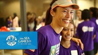 Sarah Pang on WTA Finals Singapore & SEA Games 2015, seagames 28, seagames 2015, seagames singapore