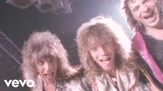 Bon Jovi - You Give Love A Bad Name videoklipp