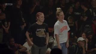 Jaja Vankova × Kate vs Kid Boogie × Kid David – BC ONE USA 2v2 Popping / Breaking SEMI FINAL