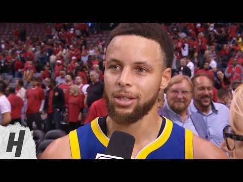 Stephen Curry Postgame Interview - Game 2 | Warriors vs Raptors | 2019 NBA Finals