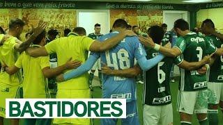Tudo que rolou no vestiário do Verdão você confere com exclusividade na TV Palmeiras/FAM. ---------------------- Assine o Premiere e assista a todos os jogos...