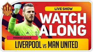 LIVERPOOL vs MANCHESTER UNITED | With Mark Goldbridge LIVE