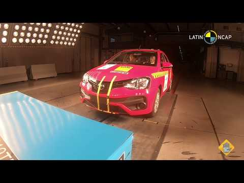 Crash test Toyota Etios LatinNCAP