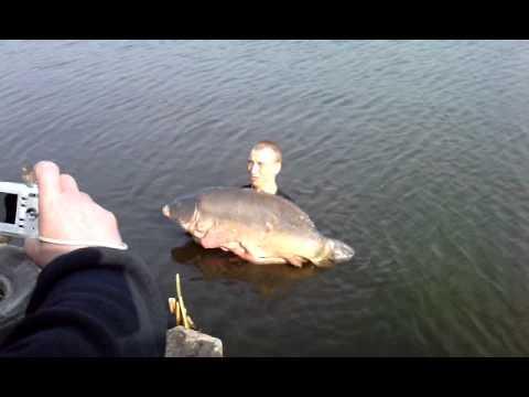 Karp 33 kg Rekord Polski Jarosławki 03.04.2011 cz.2