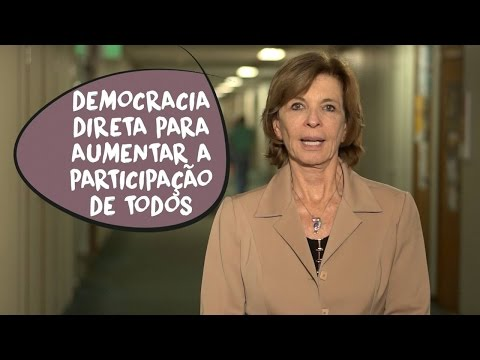 Yeda Crusius: democracia direta e participação popular