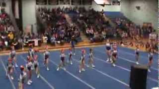 Danbury Middle School Cheer - 1st place! 2014