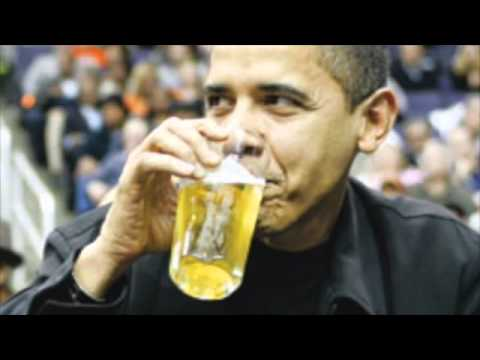 Obamas drinking problem