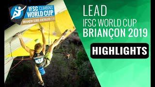 IFSC Climbing World Cup Briançon 2019 - Lead - Semi-Finals Highlights by International Federation of Sport Climbing