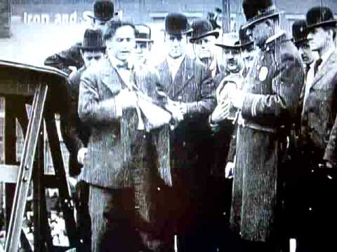HARRY HOUDINI'S VERY FIRST VIDEO HANDCUFF BRIDGE JUMP