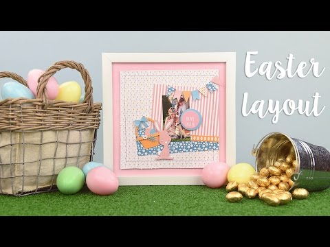 Easter Layout Quick Make