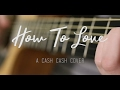 How To Love (Acoustic) - A Cash Cash Cover
