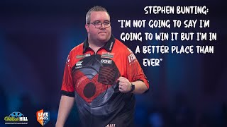 "Stephen Bunting: ""I'm not going to say I'm going to win it but I'm in a better place than ever"""