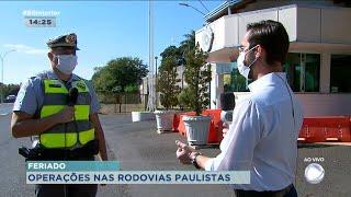 Feriado prolongado e nas rodovias paulistas têm operação