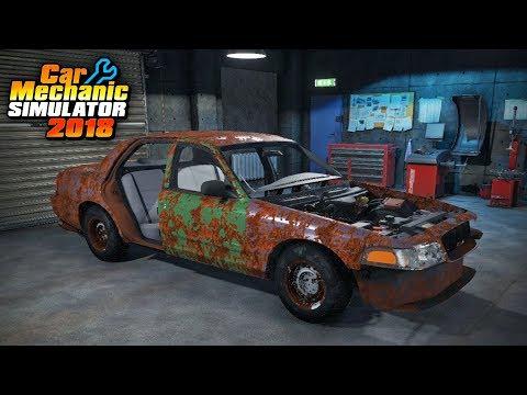 Car Mechanic Simulator - Restoration Garage 2 - Ford Crown Victoria