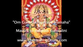Ganesha Mantra to African Drums