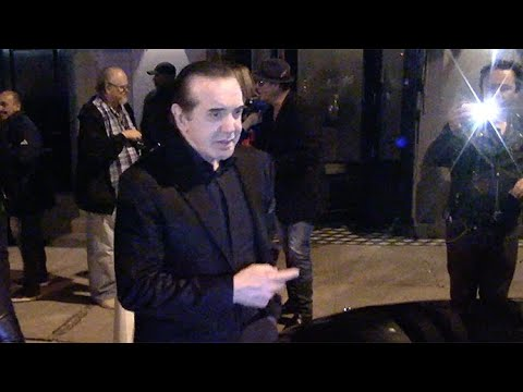 Chazz Palminteri Brings The Bronx To Hollywood At Dinner With Robert Davi