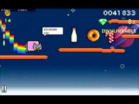 Nyan Cat - gameplay