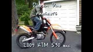 4. 2009 KTM 530 exc