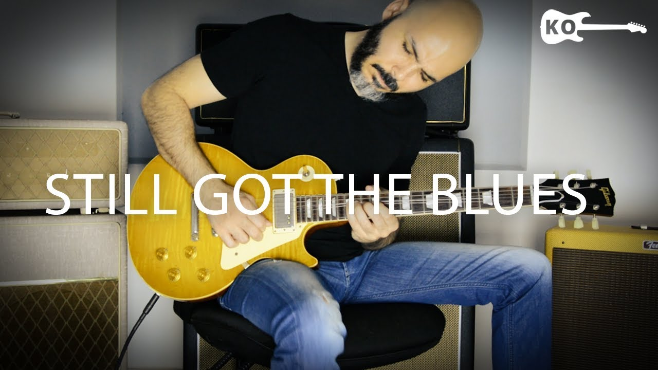 Gary Moore – Still Got The Blues – Electric Guitar Cover by Kfir Ochaion