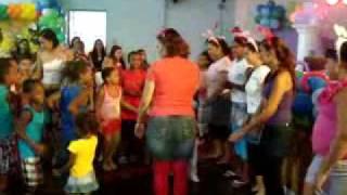 Tia Cristiane, E A Turminha Da Graça De Campos.Só Alegria!!!