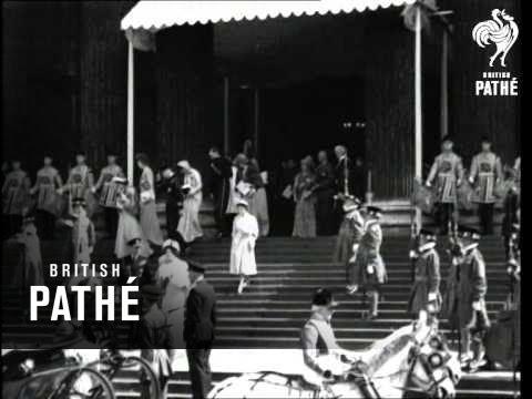 Pathe news royal wedding