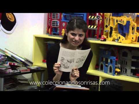 María Aura lee cuentos para niñas y niños. Coleccionando Sonrisas
