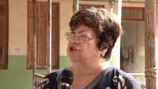 VÍDEO: Entrevista com Ana Lúcia Gazzola durante visita às obras da Escola Barão do Rio Branco