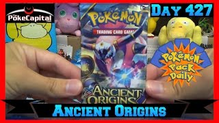 Pokemon Pack Daily Ancient Origins Booster Opening Day 427 - Featuring ThePokeCapital by ThePokeCapital