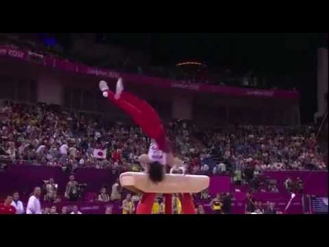Mens Olympic Gymnastics Controversial Handstand