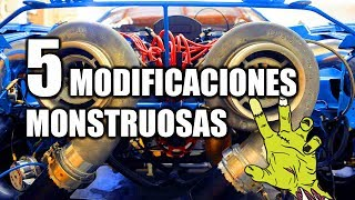 5 MODIFICACIONES MONSTRUOSAS