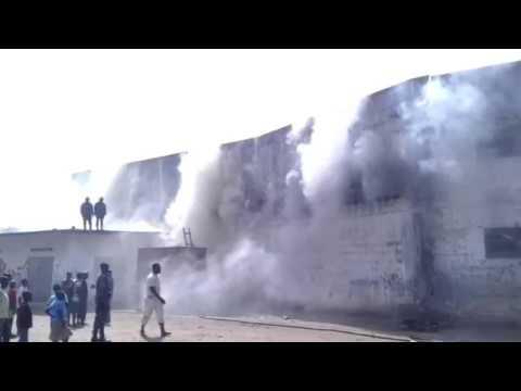 Lomé: Incendie à Akodessewa: les policiers ont fui les lieux la queue entre les jambes