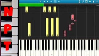 Delta Goodrem - Wings - Piano Tutorial - How to play Wings on piano - Synthesia Instrumental