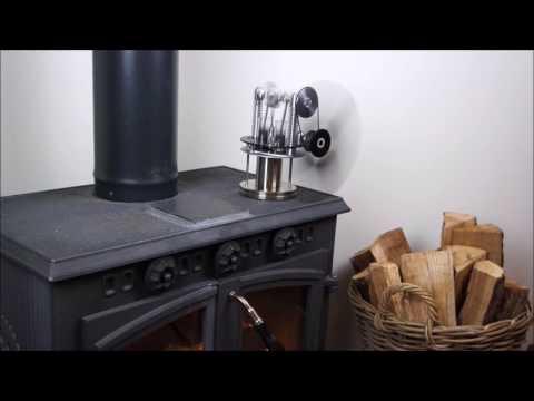 Warpfive Twinspeed Stove Fan - High Performance Stirling engine