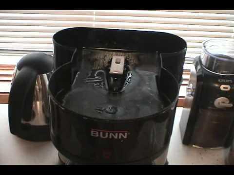 Bunn coffee maker problem followup