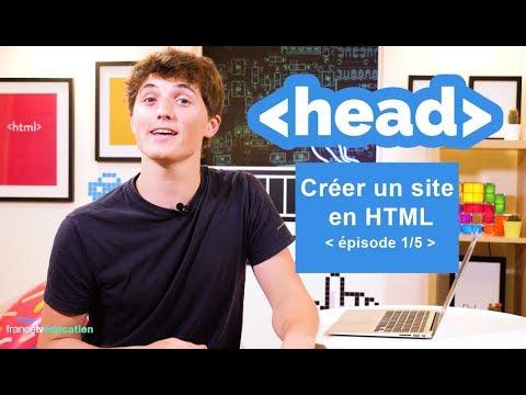 Créer un site en HTML (1/5) -