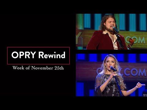 Opry Rewind - Week of November 25th   Opry Rewind