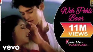 Video Woh Pehli Baar Full Video - Pyaar Mein Kabhi Kabhi|Dino, Sanjay|Shaan|Vishal Dadlani download in MP3, 3GP, MP4, WEBM, AVI, FLV January 2017