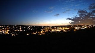 Chatham United Kingdom  City new picture : Sunset in Chatham Kent UK - timelapse