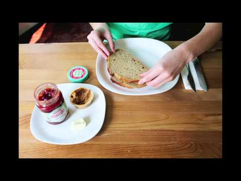 Peanut Butter & Jelly Stop Motion
