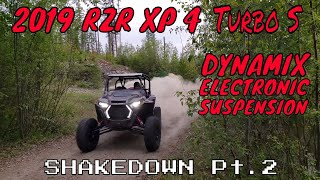 "10. Polaris 2019 RZR XP 4 Turbo S - DYNAMIX ""Shakedown Pt.2"" | Irnieracing 4k"