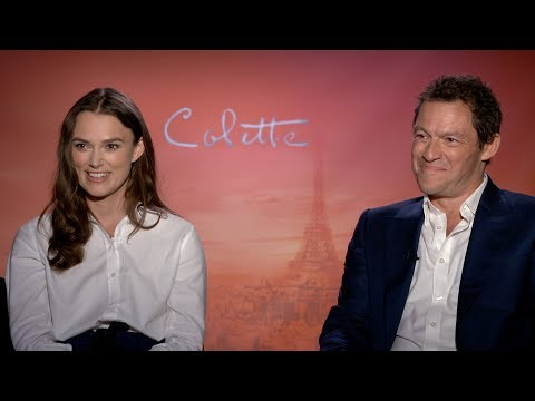 """Keira Knightley and Dominic West talk """"Colette,"""" LGBTQ-inclusion in film and more!"""